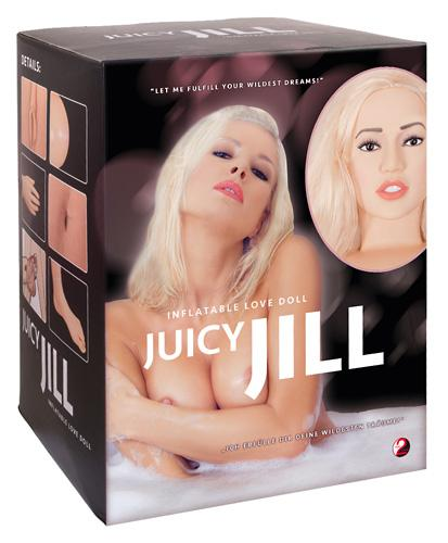 JUICY JILL, blond seksnukk