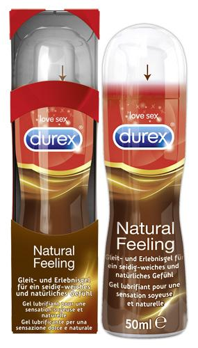 "Durex ""Natural Feeling"", silikoonbaasili libesti, 50ml"