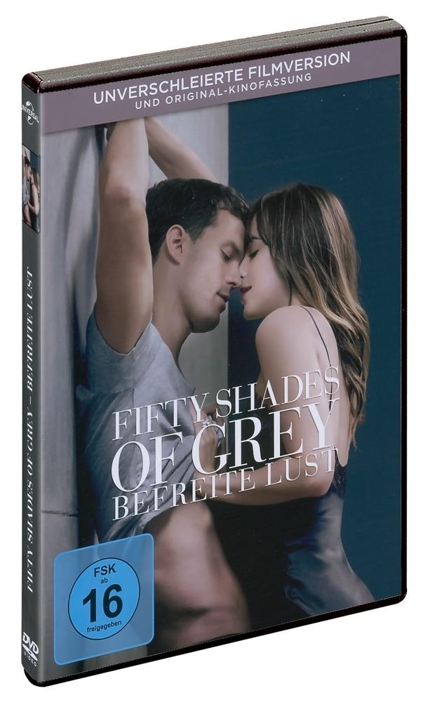 "DVD: ""Fifty Shades Freed by Fifty Shades of Grey"", kultusfilmi järg, 131min"
