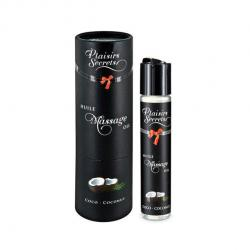 PLAISIRS SECRETS - MASSAGE OIL COCO, massaažiõli kookosega, 50ml