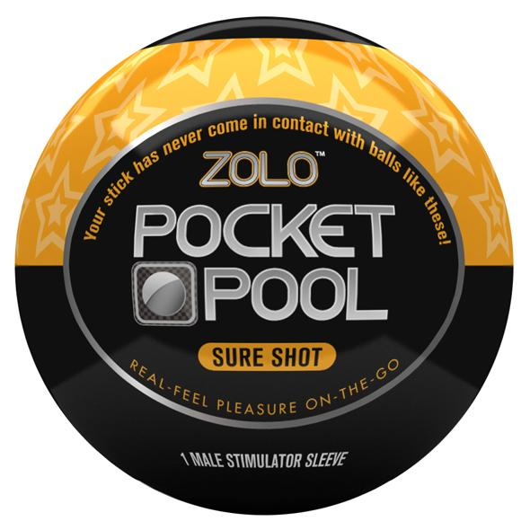 Zolo - Pocket Pool Sure Shot, masturbaator meestele