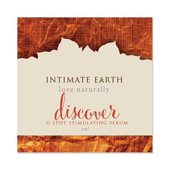 INTIMATE EARTH - DISCOVER G-SPOT STIMULATING SERUM FOIL, pisike G-punkti seerum, 3ml