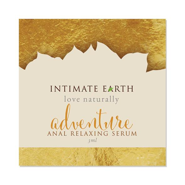 INTIMATE EARTH - ADVENTURE ANAL RELAXING SERUM FOIL, pisike anaal-seerum, 3ml